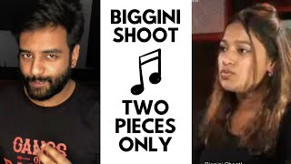 Biggini Shoot | Two Pieces Only | Dialogue with Beats | Yashraj Mukhate | Poonam Sethi
