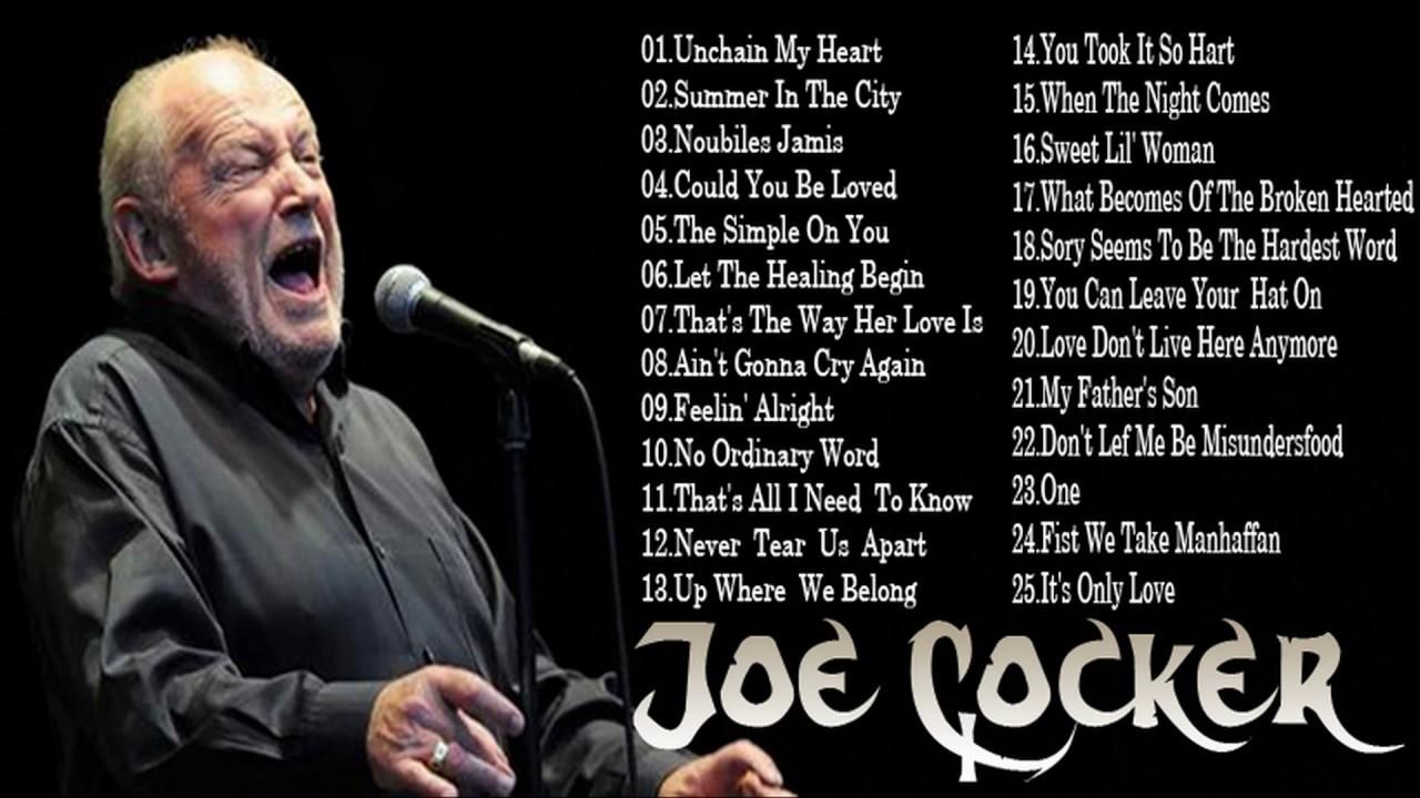 Joe Cocker Greatest Hits Full Album-Best Songs Of Joe ... |Joe Cocker Greatest Hits Youtube