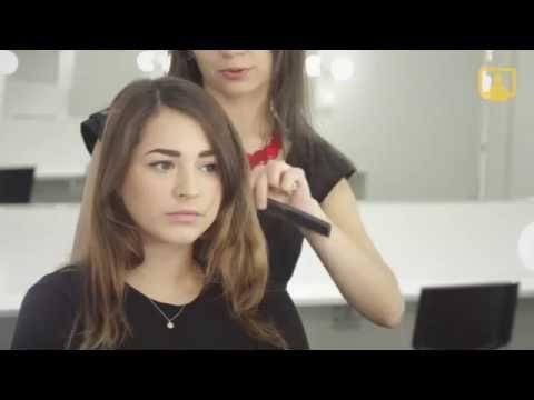Прическа с локонами (видео урок) смотреть онлайн бесплатно
