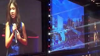 Angelica Hale Sings National Anthem - Lions Club Las Vegas