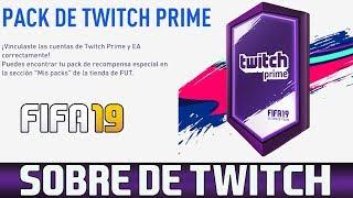 FIFA 19 Sobre Twitch Prime Vincula Tu Cuenta y Recibiras Esto 😎⚽