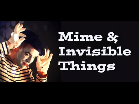 Mime Artist playing with Sound FX.