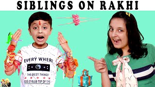 10 TYPES OF KIDS | Brother & Sister on Rakhi #Funny #kids | Aayu and Pihu Show