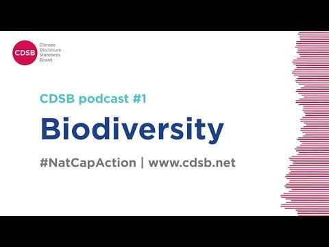 CDSB podcast #1: Biodiversity