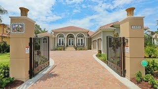 The Refined And Lush Lemon Bay Estates In Venice, Florida