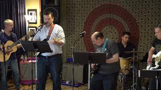 Tony, Guthrie, Nic, Chris Performing Fire Down Below Main Street Music and Art Studio