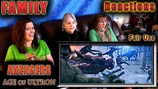 AVENGERS 2 | Age of Ultron | FAMILY Reactions | Fair Use