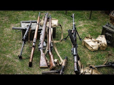 World War 2 Weapon Sound Effects - US & German Weapons
