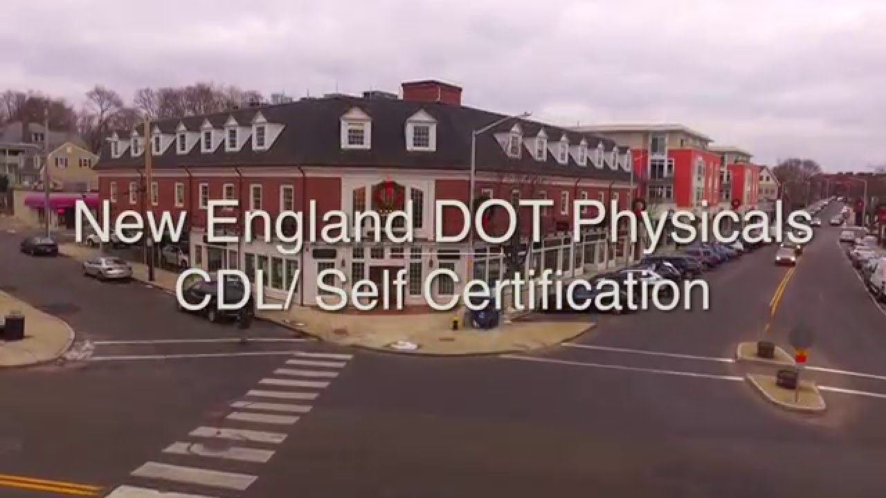 Dot Medical Card Massachusetts Cdl Self Certification Youtube