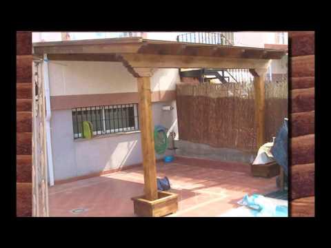Porche de madera paso a paso youtube - Madera para porches ...