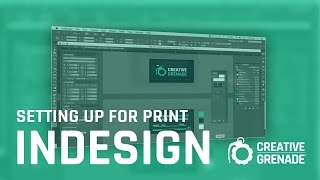 Setting up for print (Business Cards) InDesign