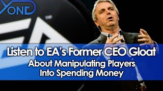 Listen to EA's Former CEO Gloat About Manipulating Players Into Spending Money