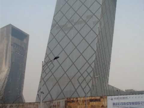 Aftermath - Beijing CCTV Annex Fire - Mandarin Oriental Hotel