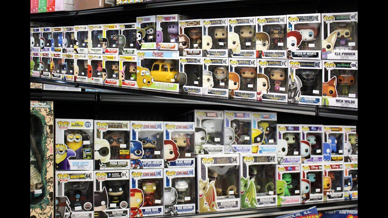 funko pop vinyl figures store tour popfuzz brooklyn new