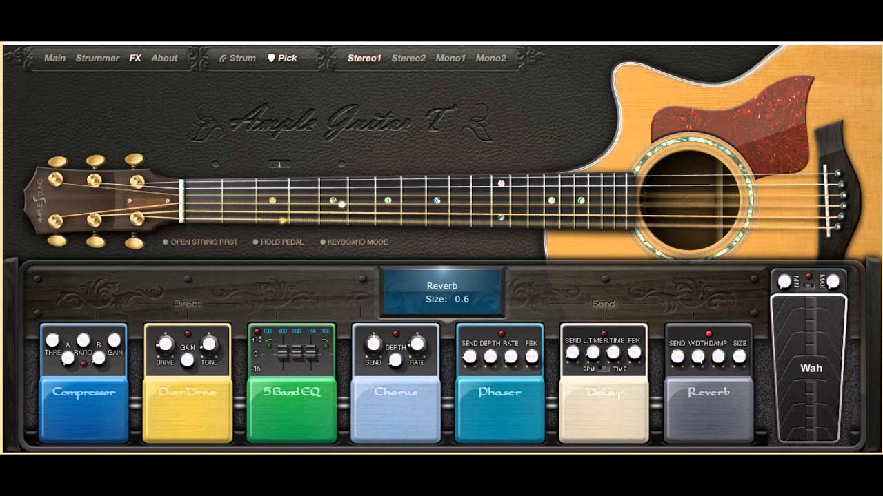 amplesound acoustic guitar vst