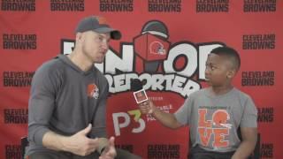 Junior Reporter with Josh McCown
