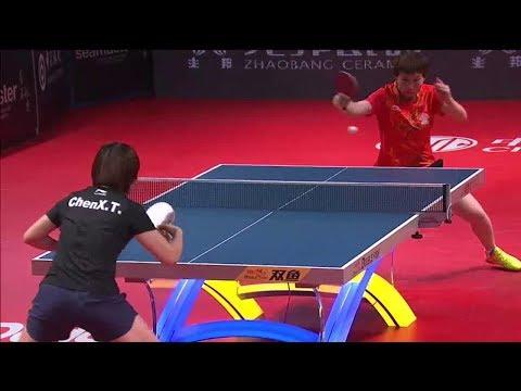2017 Grand Finals (WS-SF) CHEN Xingtong  (CHN) Vs ZHU Yuling (CHN) [Full Match/English|720p]