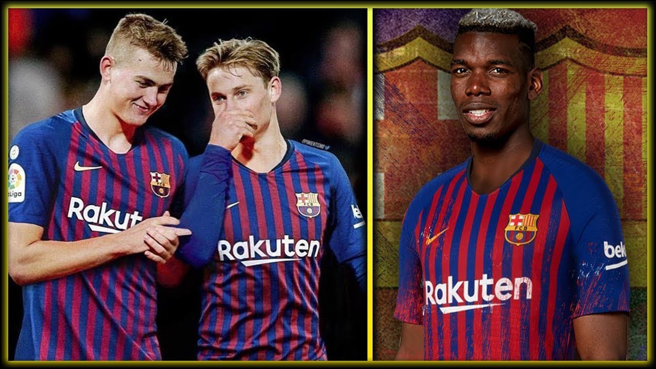 BARCELONA TRANSFER NEWS : Top 5 BARCA Transfer Targets January 2019 ft Pogba | De Ligt | De Jong