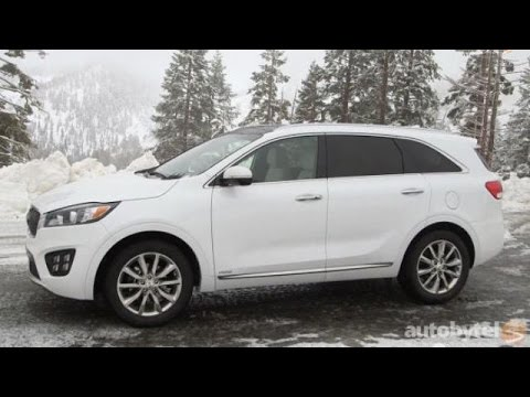 2016 Kia Soo 7 Penger Suv Test Drive Video Review