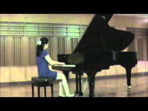 Delicia Mandy Nugroho plays Debussy's Deux Arabesques no. 1