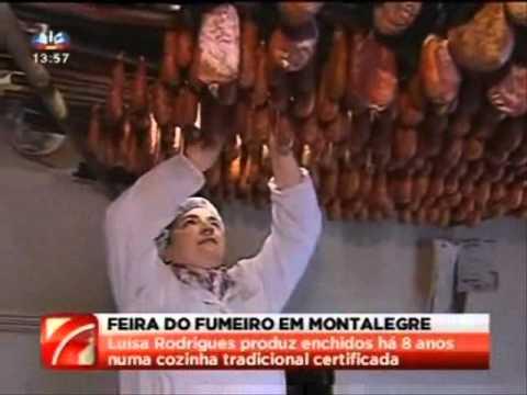 MONTALEGRE - Feira do Fumeiro 2011 (reportagem SIC)