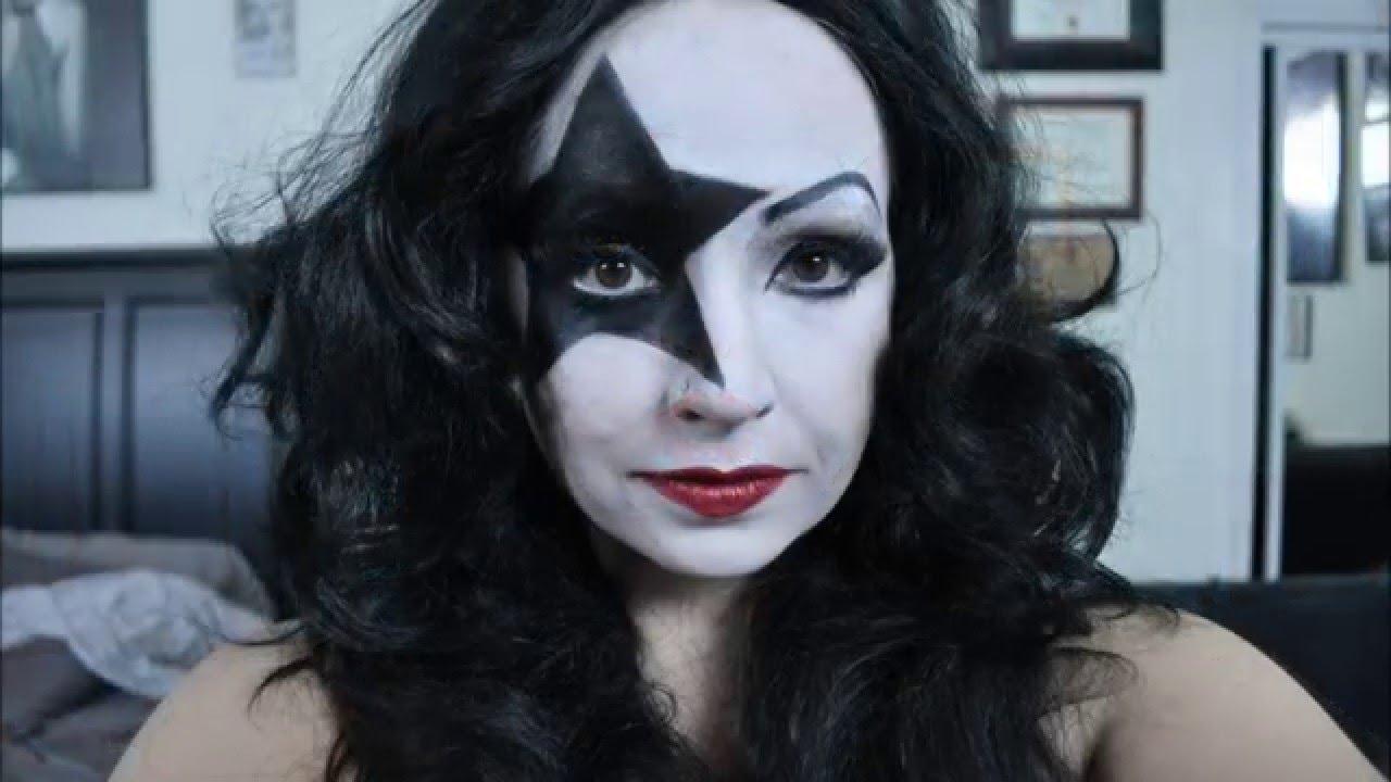 Paul Stanley Starchild Female Makeup Tutorial