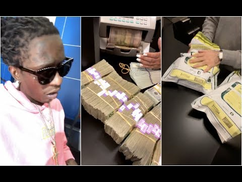 Young Thug Goes To The Bank And Makes An INSANE Withdrawal