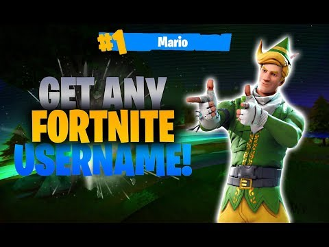how-to-get-any-fortnite-username!-fortnite-battle-royale-glitch