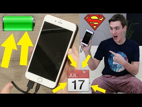 How I made my iPhone battery last a week