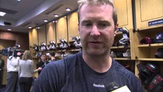 Pregame Interview (11/21/14): Jordan Leopold