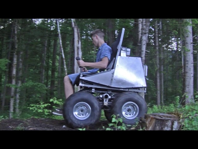 LUF Mobil - Offroad Mobility Support Prototype