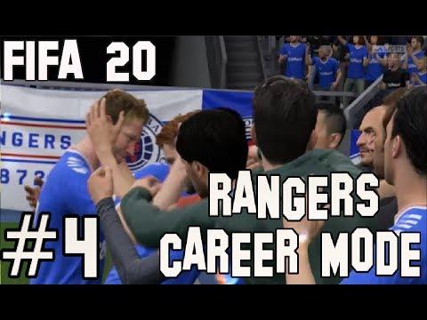 FIFA 20 RANGERS CAREER MODE - EPISODE 4 - HIBS AT IBROX