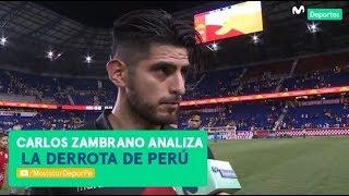 PERÚ 0-1 Ecuador: Carlos Zambrano y su análisis tras la derrota | DECLARACIÓN POST PARTIDO