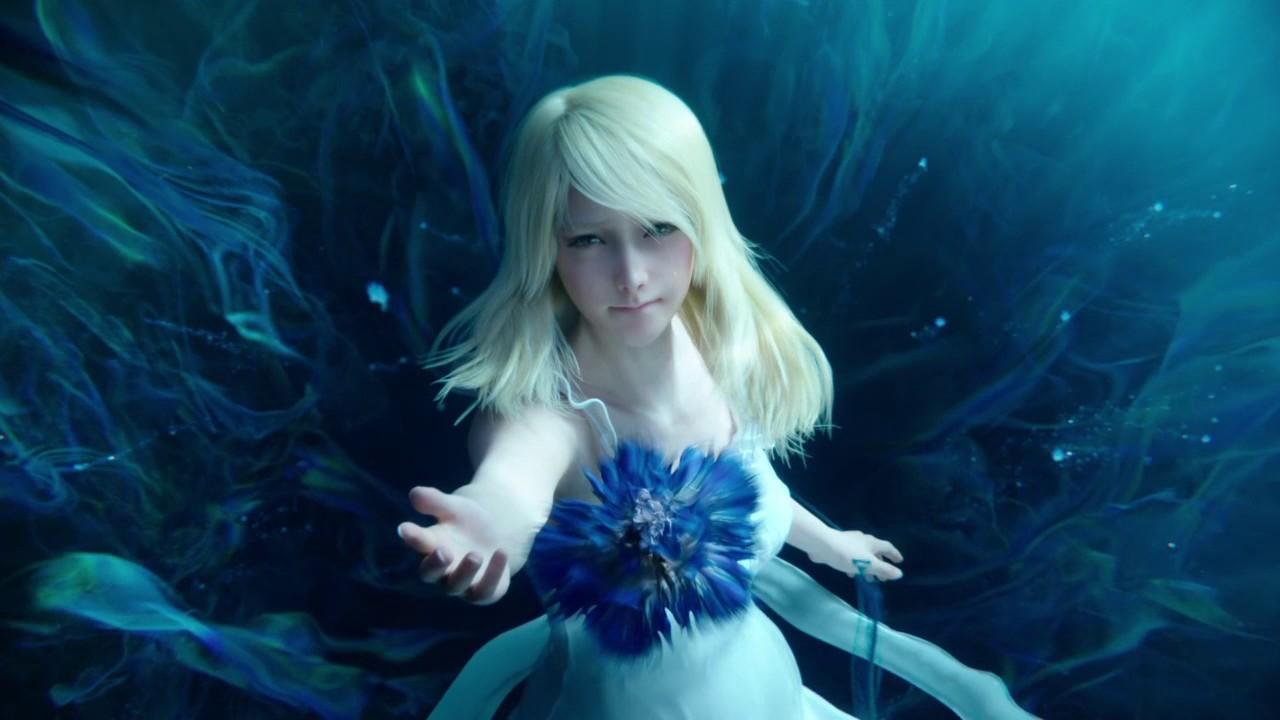 Shiva Live Wallpapers Hd Luna S Death Scene Final Fantasy Xv Youtube