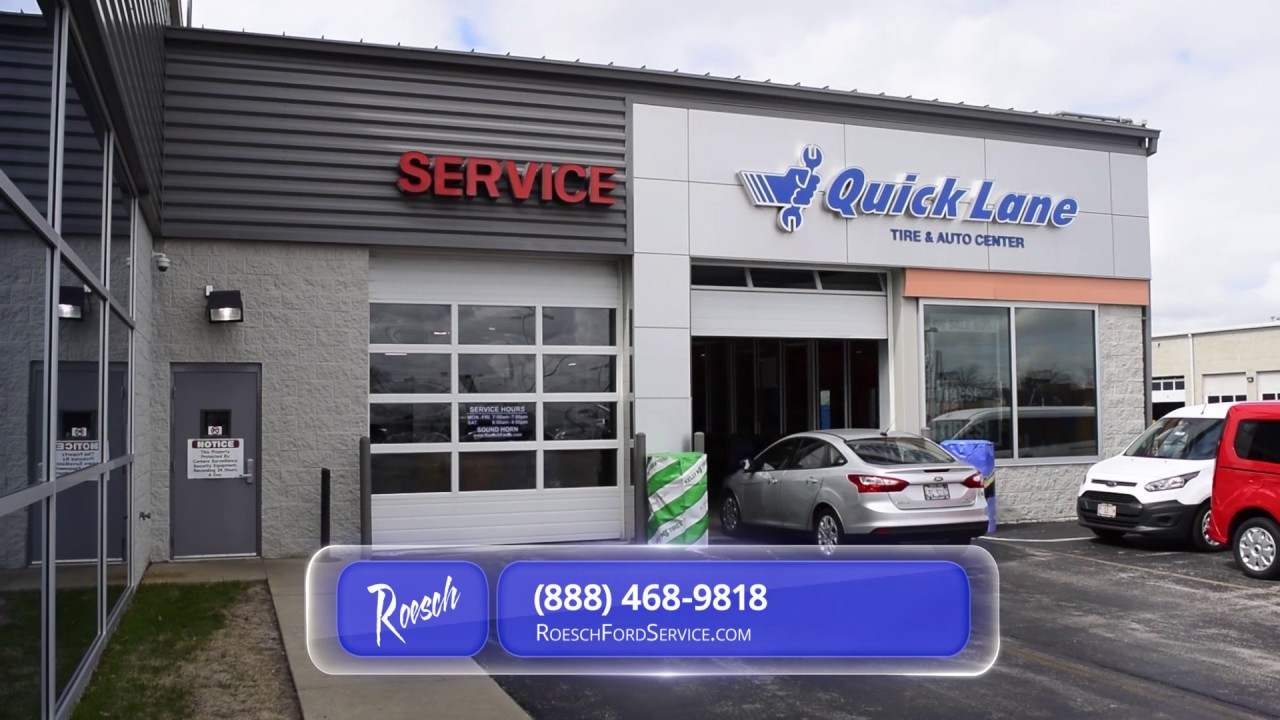 Tire Rotation Bensenville, IL | Best Ford Service ...