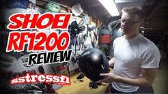 Review Shoei RF1200 | Snell 2015 Motorcycle Helmet