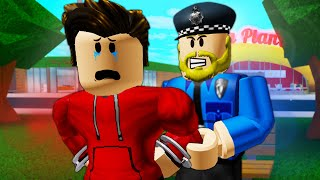 I Was Arrested *FULL MOVIE* ( A Sad Roblox Movie)