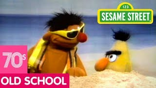 Sesame Street: Ernie Buries Bert in the Sand