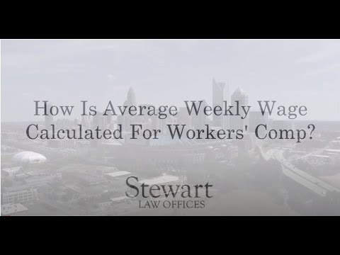 How Is Average Weekly Wage Calculated For Workers' Comp? - Charlotte, NC - Stewart Law Offices