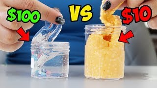 ETSY SLIME MYSTERY BOXES! $10 VS $100 MOST EXPENSIVE SLIME EVER?!
