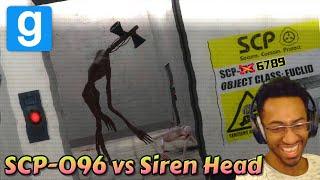 SCP-096 vs Siren Head : Battle of Legends - Garry&#39s Mod Edition ft. mt2oo8, emversal &amp High Velocity