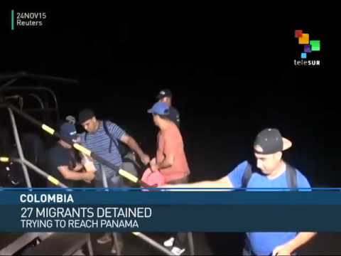 Colombia: Cuban and African Migrants Detained
