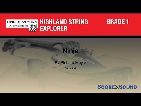 Ninja by Richard Meyer – Score & Sound