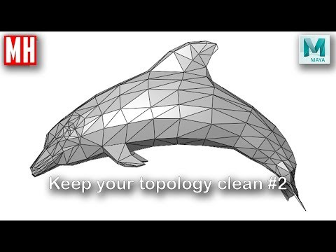 Why A Clean Topology In Your 3D Model Is Important #2 : Polycount, Tris's And Game Engines