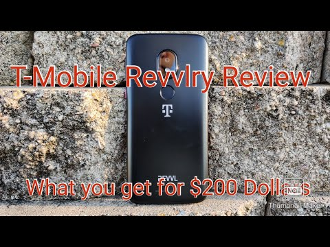 T-Mobile Revvlry Review- Can You Get By With A $200 Phone?