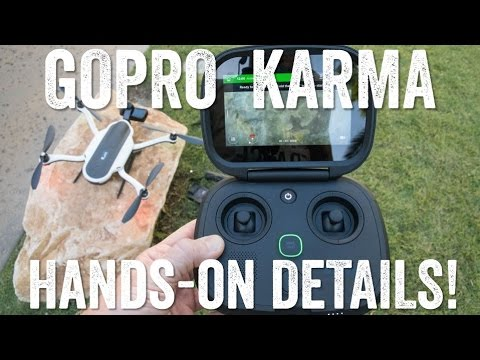 GOPRO KARMA DRONE: Hands-on!