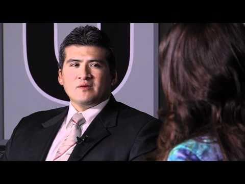 Corina Lopez Talks with Sergio Contreras AT&T External Affairs
