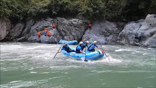 World Rafting Cup 2017 - Wupai River, China - Downriver Canyon part