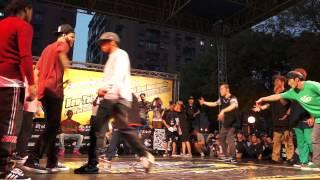 20121110 新北市國際街舞大賽 Breaking Bboyworld (USA) vs JinJo Crew (KOREA) Tie Break 2