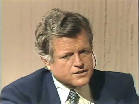 Interview with Sen. Ted Kennedy before 1980 NY Primary (3/24/80)